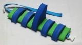 PLAVECKÝ PÁS S PLOUTVÍ (11 dílků) - modro-zelený Aronet
