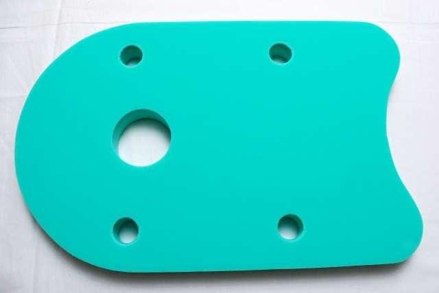 Plovák DENA 48x30 - zelený
