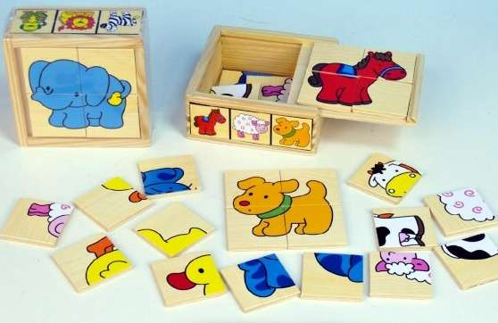 Skládačka - puzzle pro nejmenší ZVÍŘÁTKA