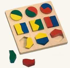 Vkládačka - geometrické tvary BINO