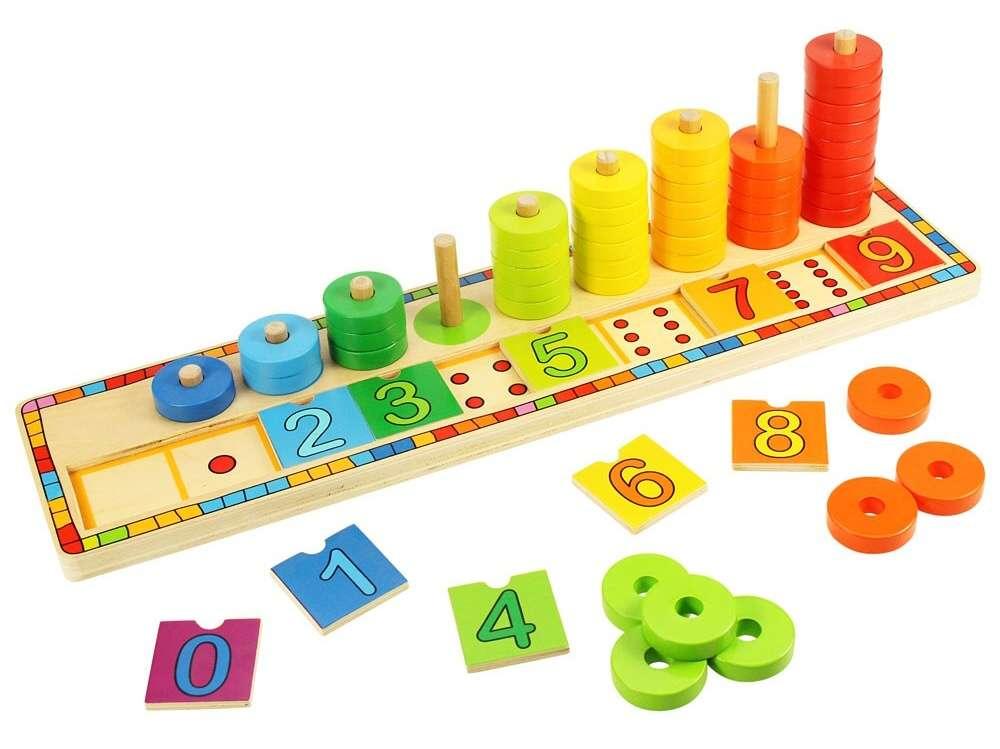 BigJigs Didaktická hračka - učíme se počítat