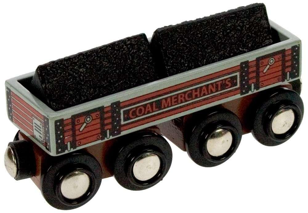 BigJigs Vagón s uhlím velký