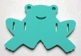 DENA, plavací deska ŽABKA - zelená