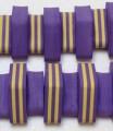 Dena PLAVECKÝ PÁS PRUH 13 dílků, fialovo-žlutý