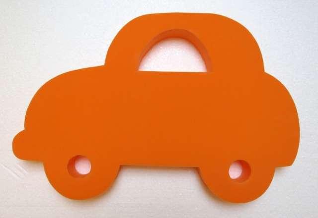 deska na plavání 40 cm - AUTO oranžové DENA