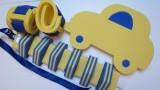 deska na plavání 40 cm - AUTO žluté DENA