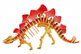 Dřevěné 3D puzzle - STEGOSAURUS