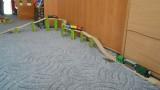 Dřevěné vláčky - inspirace Co se dá ještě ze serpentýny postavit