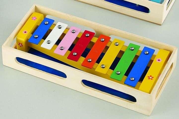 Hudební hračky - XYLOFON 28 cm