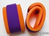 Nadlehčovací rukávky - oranžové s fialovým