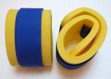 Nadlehčovací rukávky - žluté s modrým