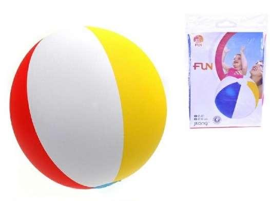 Nafukovací balónek (plážový míč) pruh - 41 cm