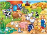 puzzle 42x30 KDO SE SKRÝVÁ NA FARMĚ ?