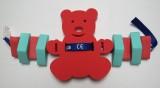 Plavecká deska pro děti BABY MEDVIDEK - červený DENA