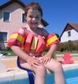 Plavecké pomůcky - tip na kombinace pás Dena + rukávky Aronet
