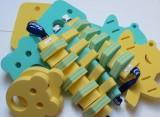 Plavecké pomůcky - tip na kombinace žluto-zelené plavecké pomůcky Dena