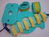 Plavecké pomůcky - tip na kombinace další zeleno-žlutá
