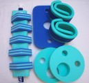 Plavecké pomůcky - tip na kombinace oblíbená zeleno-modrá kombinace pro kluky