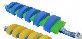 PLAVECKÝ PÁS (13 dílků) - modro-zelený