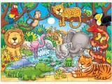 puzzle 42x30 KDO SE SKRÝVÁ V DŽUNGLI ?