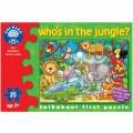 Orchard Toys, puzzle KDO SE SKRÝVÁ V DŽUNGLI ?, 25 dílů