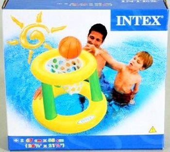 Basketbalový koš do vody nafukovací INTEX