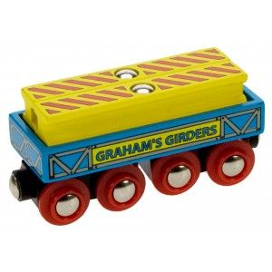 BigJigs - Vagón na magnetky se dřevem
