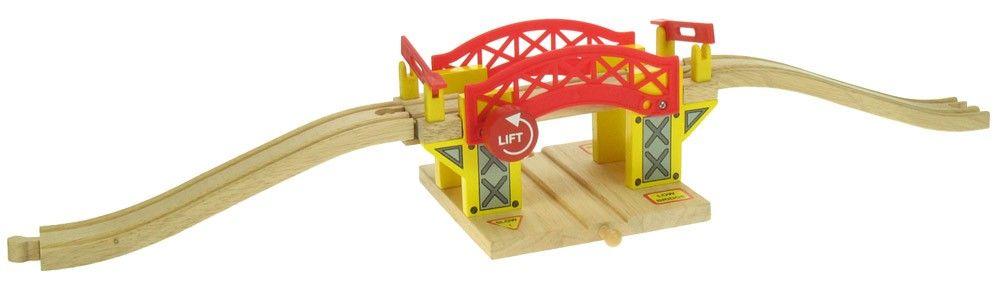 BigJigs Zvedací most - dřevěné vláčkodráhy