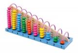Didaktická hračka - kuličkové počítadlo