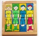 Dřevěná skládačka - KLUCI