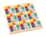 Dřevěné sudoku pro děti - kostičky