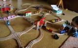 Dřevěné vláčky - inspirace koleje had, zvedací most Woody. princeznin vlak...