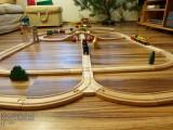 Dřevěné vláčky - inspirace  Vláčkodráha - smyčky 2