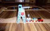 Dřevěné vláčky - inspirace vláčkodráha - detail posuvný jeřáb