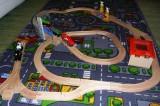Dřevěné vláčky - inspirace Zvedací most + viadukt