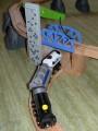 Dřevěné vláčky - inspirace Zvedací most - detail