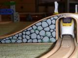 Dřevěné vláčky - inspirace Kamenný most - detail