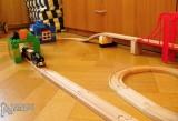 Dřevěné vláčky - inspirace vláčky a Duplo 2