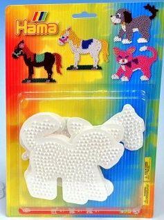 HAMA, Sada podložky pro zažehlovací korálky - kůň, pes, kočka