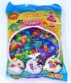Zažehlovací korálky - 1000 ks mix třpytivé