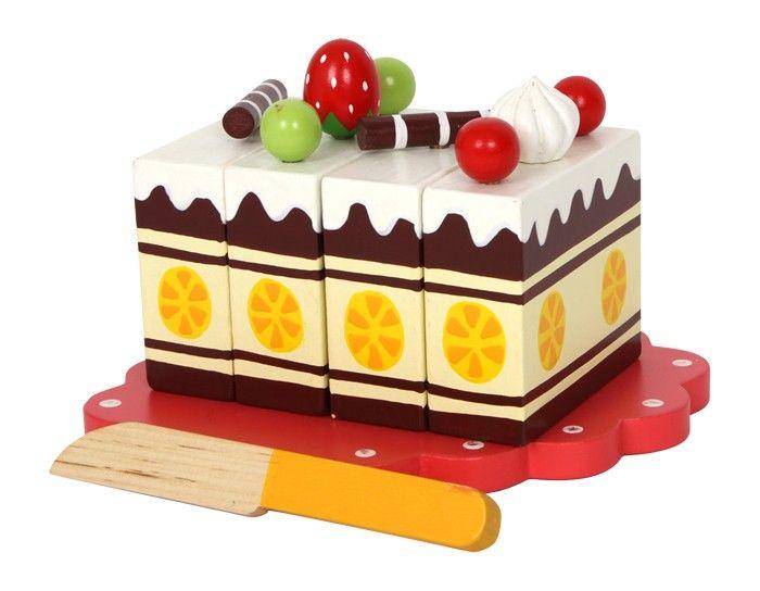 Krájecí obdélníkový dort Legler