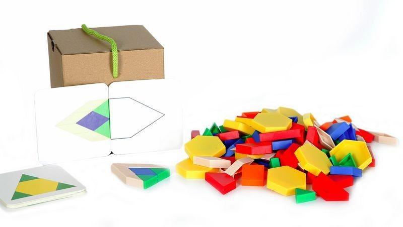 Mozaika, tvary plastové - malý set