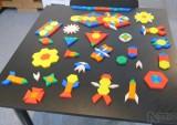 Mozaika, tvary plastové - velký set