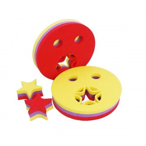 Nadlehčovací kroužky - HVĚZDIČKA červená Aronet
