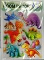 Samolepící dekorace 3D - Dinosauři