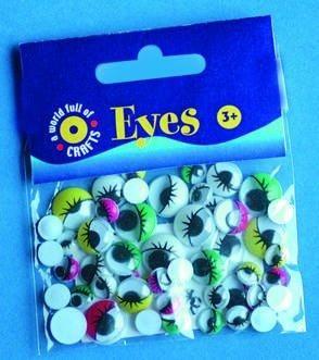 Oči s řasami - mix