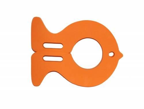 Plavecká deska RYBA oranžová - plavecké pomůcky Aronet