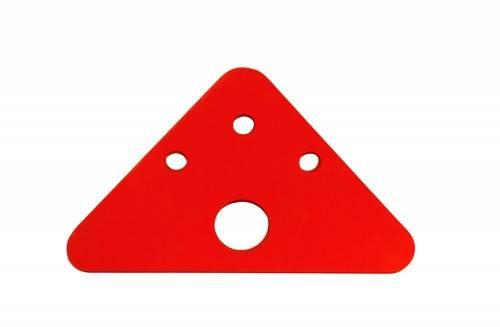 Plavecká deska ŠIPKA červená Aronet