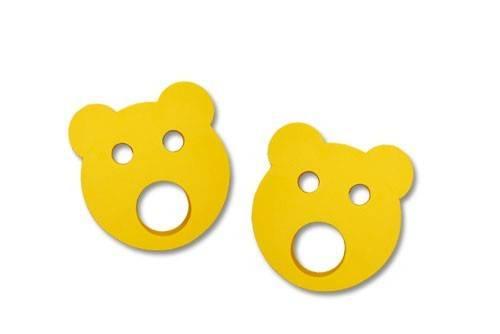 Nadlehčovací kroužky MEDVÍDEK žlutý Aronet