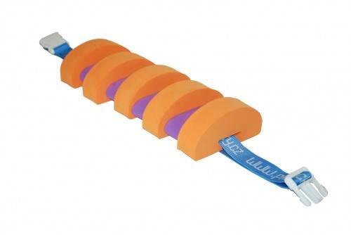 PLAVECKÝ PÁS (9 dílků) - oranžovo-fialový Aronet